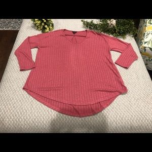 2/$12 Rose top size XL